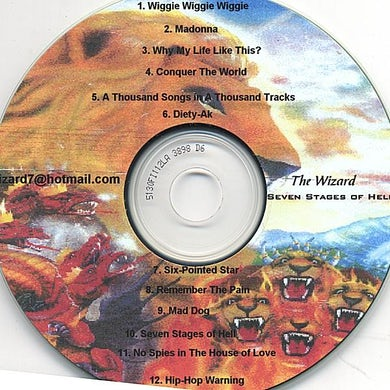 Wizard SEVEN STAGES OF HELL PURGATORY CD