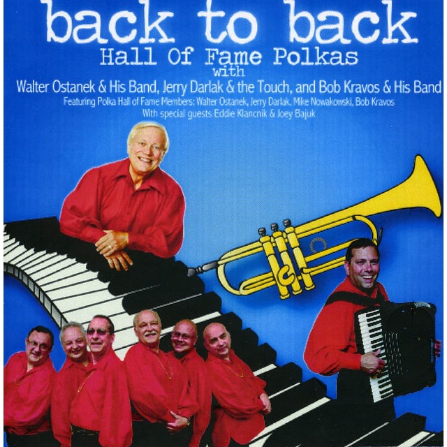 Walter Ostanek & his band BACK TO BACK HALL OF FAME POLKAS CD