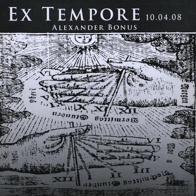 Alexander Bonus EX TEMPORE 10.04.08 CD