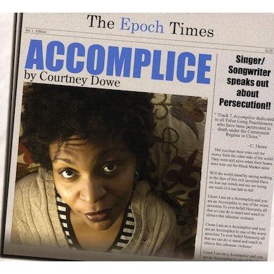 Courtney Dowe ACCOMPLICE CD