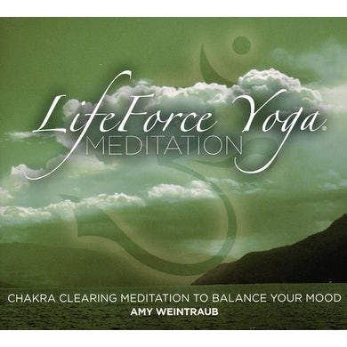 Amy Weintraub LIFEFORCE YOGA CHAKRA CLEARING MEDITATION CD