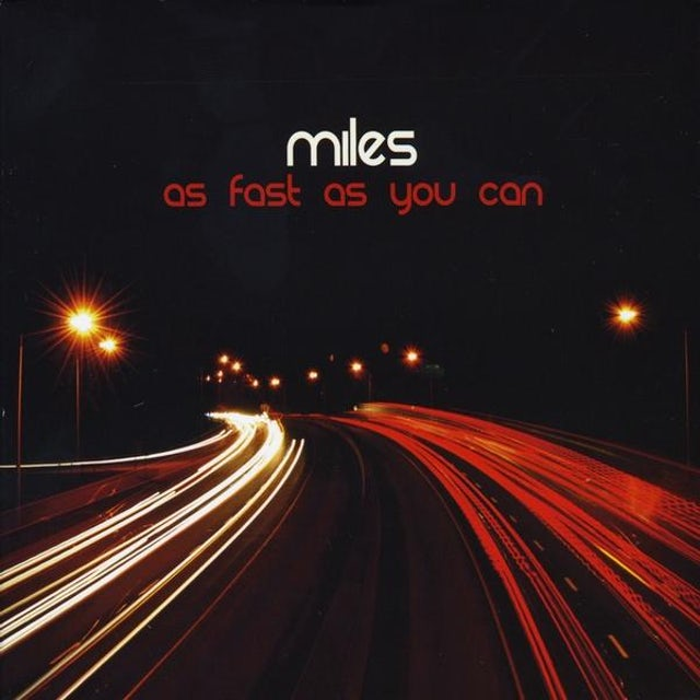 Miles AS FAST AS YOU CAN CD