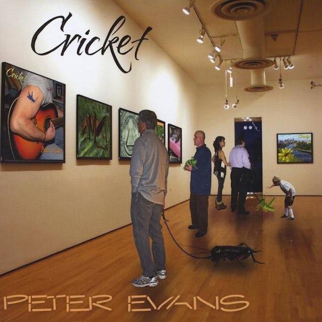 Peter Evans CRICKET CD