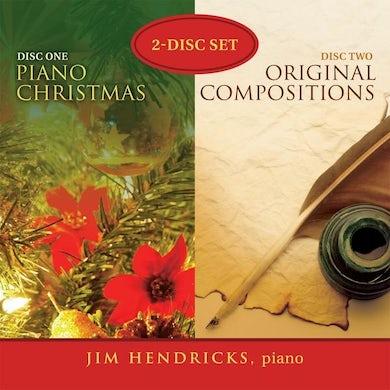 Jim Hendricks PIANO CHRISTMAS & ORIGINAL COMPOSITIONS CD