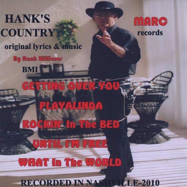 Hank Williams HANK'S COUNTRY CD