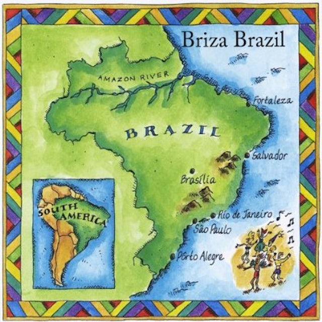 Jeff Jones BRIZA BRAZIL CD