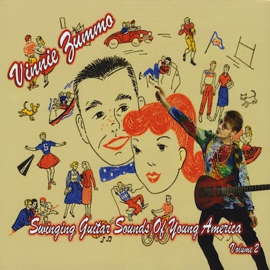 Vinnie Zummo SWINGING GUITAR SOUNDS OF YOUNG AMERICA VOL. 2 CD