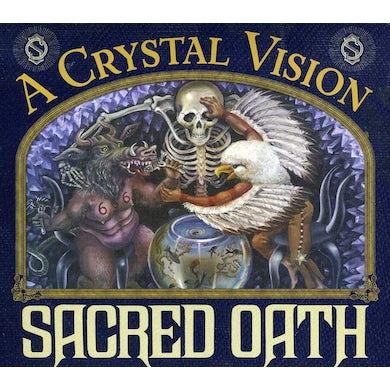 Sacred Oath CRYSTAL VISION-TWENTIETH ANNIVERSARY REISSUE CD