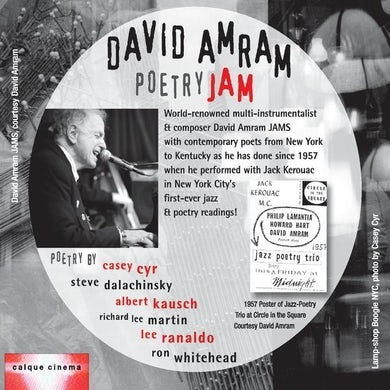 David Amram POETRY JAM CD