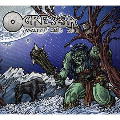 Ogressa WARTS & ALL CD