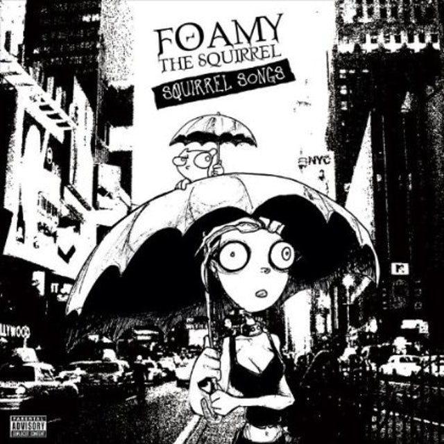 Foamy the Squirrel SQUIRREL SONGS CD