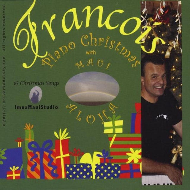 Francois PIANO CHRISTMAS CD