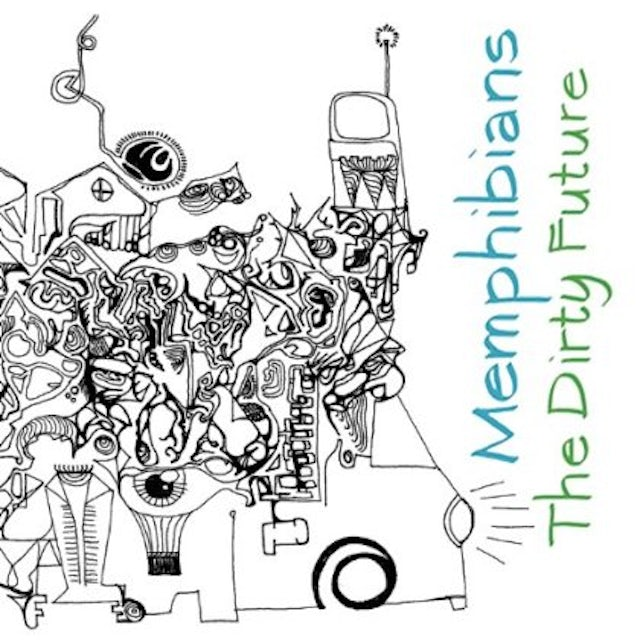 Memphibians DIRTY FUTURE CD