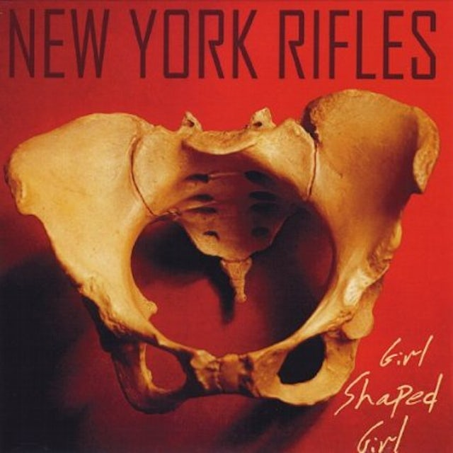New York Rifles GIRL SHAPED GIRL CD