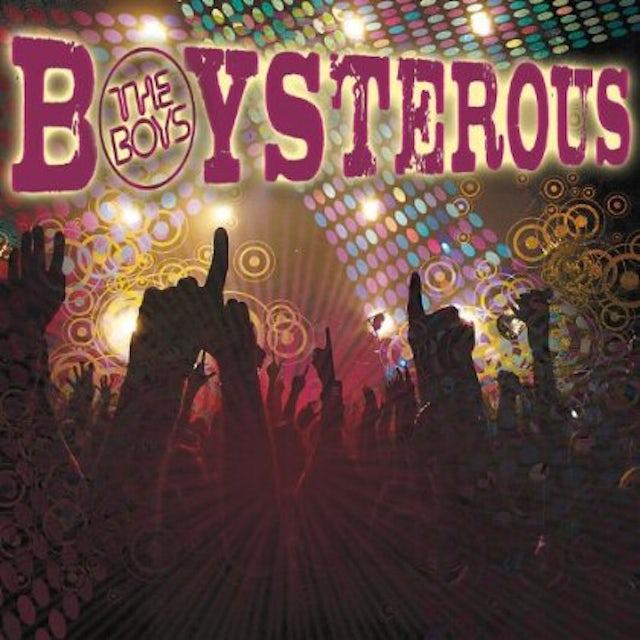 BOYSTEROUS CD