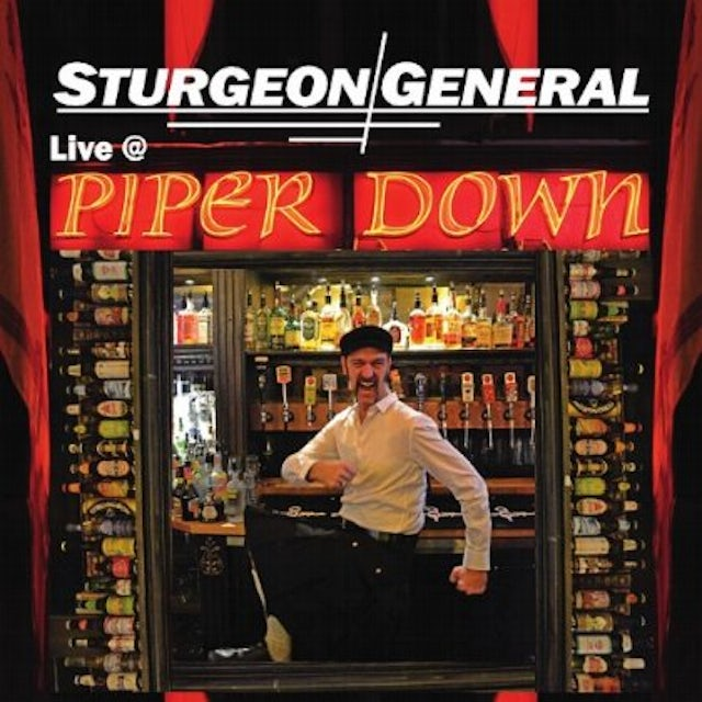 Sturgeon General LIVE AT PIPER DOWN CD