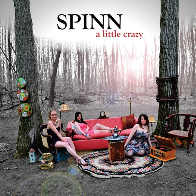 Spinn A LITTLE CRAZY CD