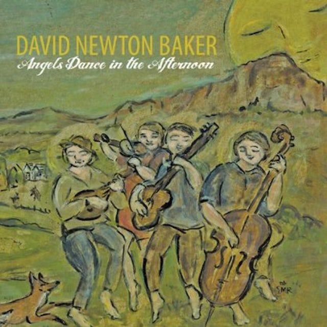 David Baker ANGELS DANCE IN THE AFTERNOON CD