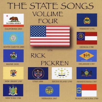 rick pickren THE STATE SONGS VOLUME FOUR CD