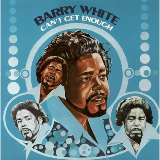 Barry White CAN'T GET ENOUGH Vinyl Record