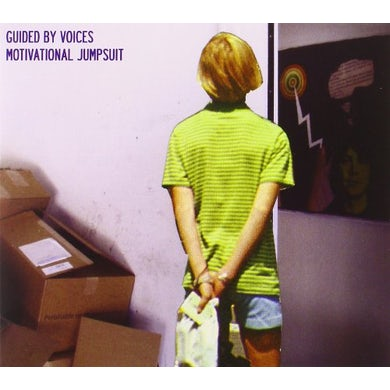 Guided By Voices MOTIVATIONAL JUMPSUIT CD