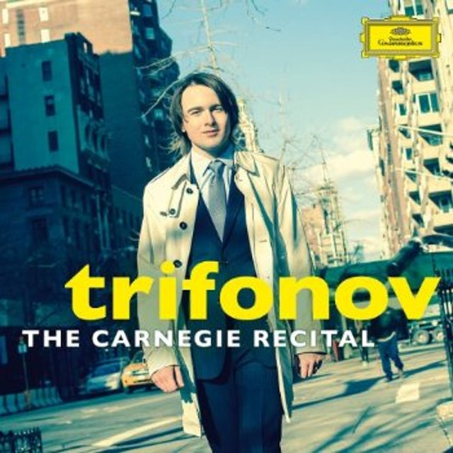 Daniil Trifonov CARNEGIE RECITAL CD