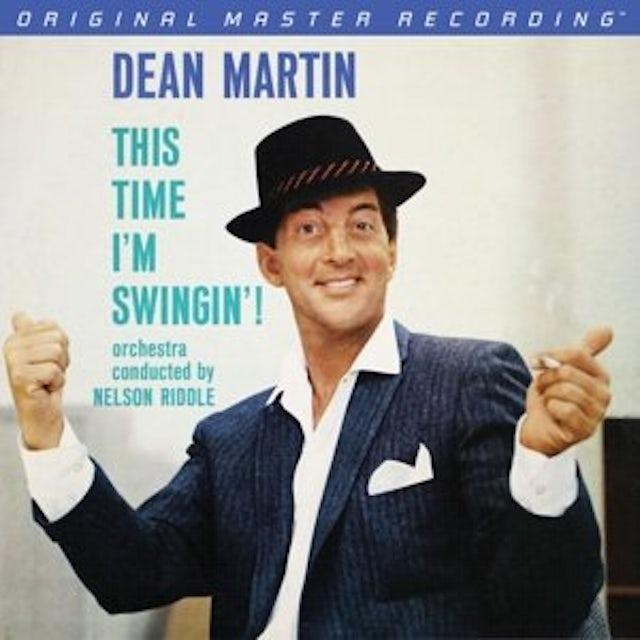 Dean Martin THIS TIME I'M SWINGIN Vinyl Record