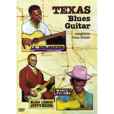 John Miller TEXAS BLUES GUITAR-GUITAR WORKSHOP DVD