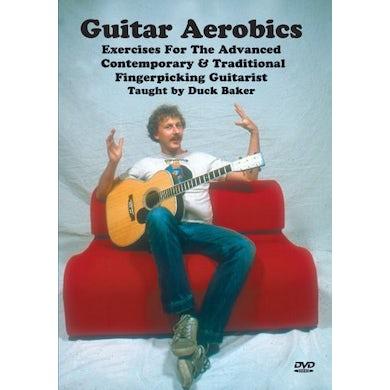 Duck Baker GUITAR AEROBICS EXERCISES FOR THE ADVANCED CONTEMP DVD