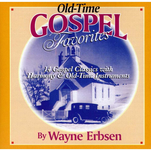 Wayne Erbsen OLD TIME GOSPEL SONGBOOK CD