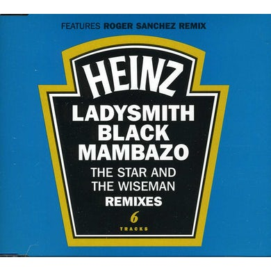 Ladysmith Black Mambazo (EP) STAR & WISEMAN- REMIXES (6 TRACKS) CD