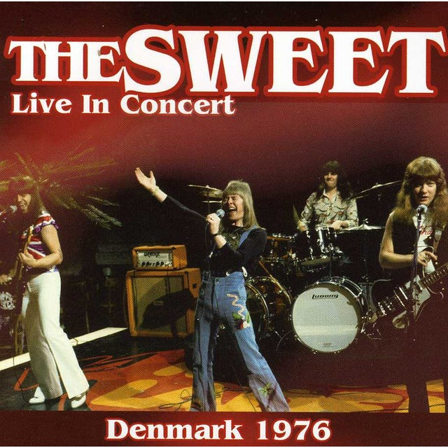 The Sweet LIVE IN CONCERT 1976 CD