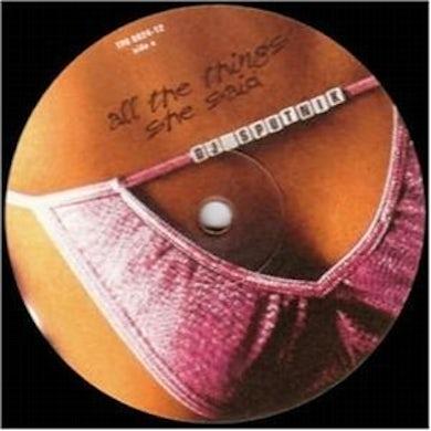 Dj Sputnik ALL THE THINGS SHE SAID Vinyl Record