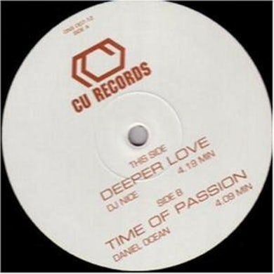 Dj Nice/Ocean DEEPER LOVE/TIME OF PASSION Vinyl Record