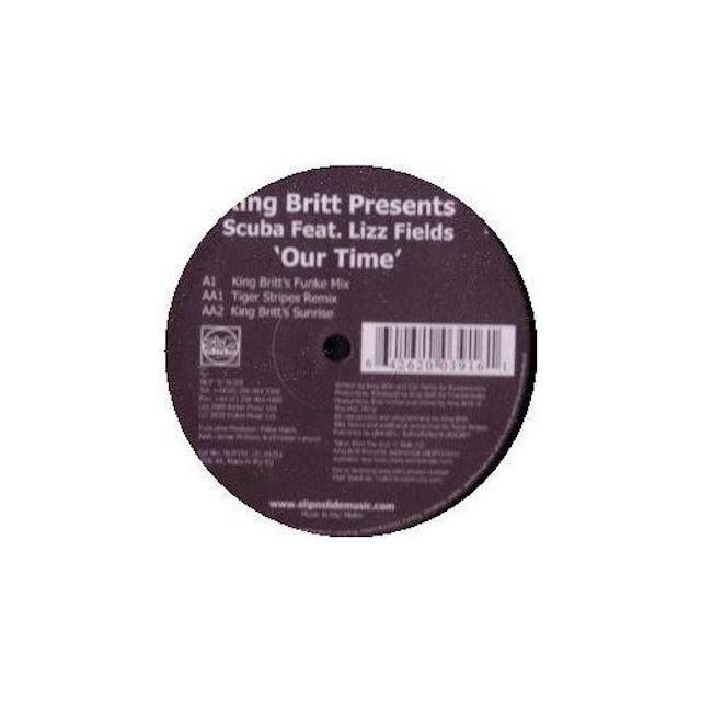 King Britt OUR TIME Vinyl Record