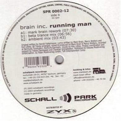Brain Inc. RUNNING MAN Vinyl Record