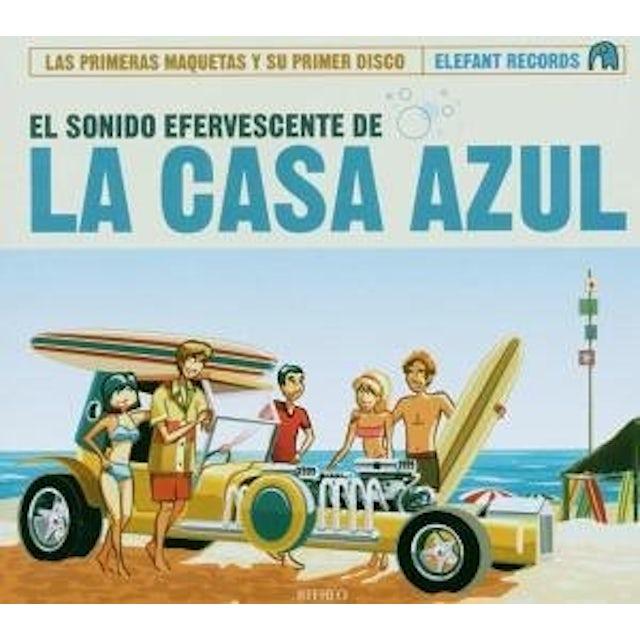 EL SONIDO EFERVESCENTE DE LA CASA AZUL CD