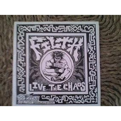 Filth LIVE THE CHAOS Vinyl Record