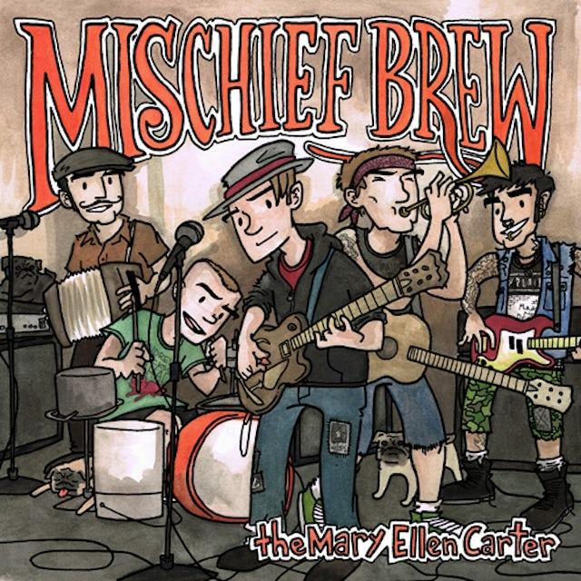 Mischief Brew & Franz Nicolay UNDER THE TABLE Vinyl Record