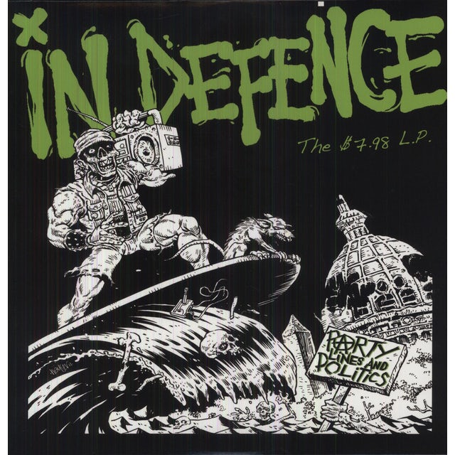 In Defence PARTY LINES & POLITICS (Vinyl)