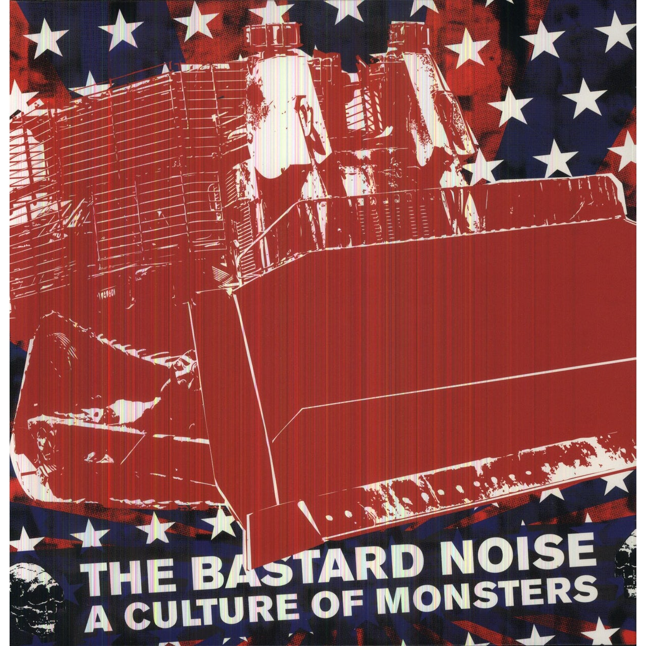 Bastard Noise CULTURE OF MONSTERS Vinyl Record