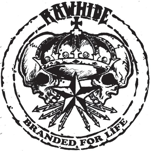 Rawhide BRANDED FOR LIFE Vinyl Record