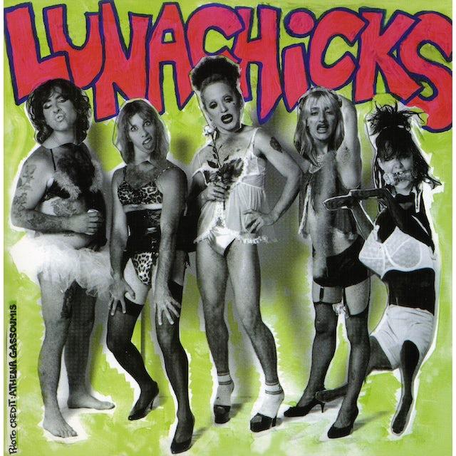 Lunachicks SHIT FINGER DICK Vinyl Record