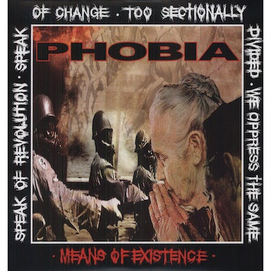 Phobia MEANS OF EXISTENCE Vinyl Record