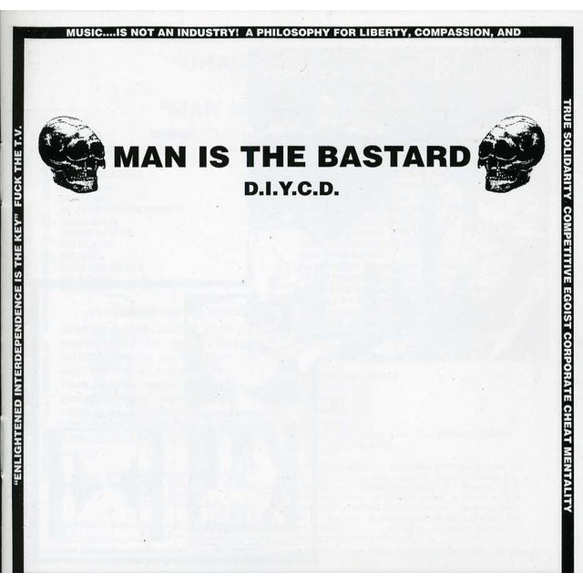Man Is The Bastard D.I.Y.C.D. CD