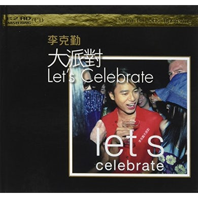 Hacken Lee LET'S CELEBRATE: K2HD MASTERING CD