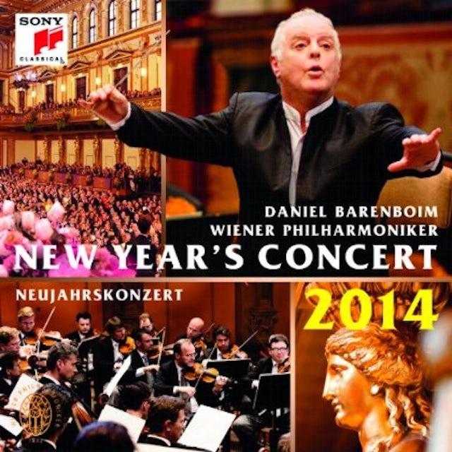 Daniel Barenboim NEW YEAR'S CONCERT 2014/NEUJAHRSKONZERT CD