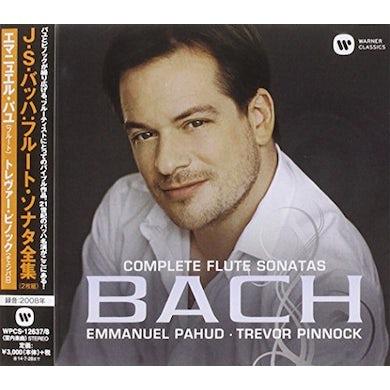 Emmanuel Pahud BACH FLUTE & HARPSICHORD SONATAS CD