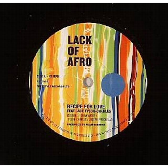 Lack Of Afro RECIPE FOR LOVE Vinyl Record