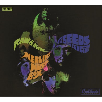 The Seeds RAW & ALIVE CD